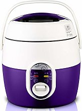 ZQJKL 1.2L Mini Rice Cooker Kitchen Small Cooking