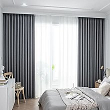 ZQJKL Bedroom Blackout Curtains Panels Thermal