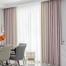 ZQJKL Blackout Curtains Hooks Thermal Insulated
