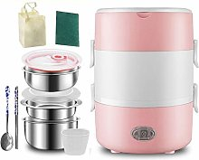 ZQJKL Electric Lunch Box Portable Food Warmer With