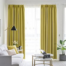 ZQJKL Full Blackout Curtains 2 Panels Thermal