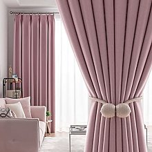 ZQJKL Light Blocking Curtain for Bedroom Thermal