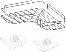 ZQJSC Bathroom rack Bathroom Shelf Stainless Steel