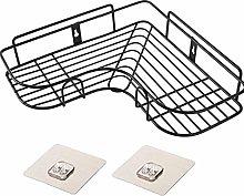 ZQJSC Bathroom rack Punch Free Corner Bathroom