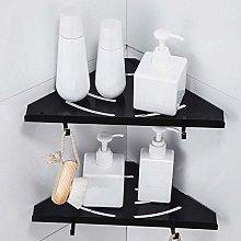 ZQJSC Bathroom rack Punch-free Hanging Wall Corner