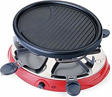 ZQQFR Raclette Grills Barbecue Home Electric Grill