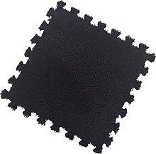 ZQSM Plush Puzzle Foam Floor Mat,Tiled