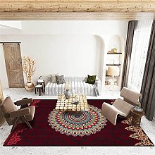 ZQW Carpet Rugs Modern, Rectangular Ethnic Style