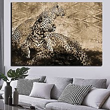 zqyjhkou African Leopard/Print wild leopard poster