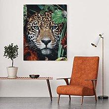 zqyjhkou Art Leopard Jungle/Print wild leopard