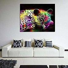 zqyjhkou Colorful leopard print/Print wild leopard