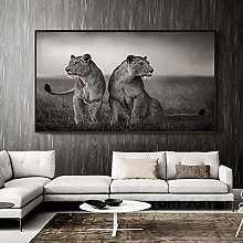 zqyjhkou Leopard and its children/Print wild