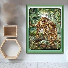 zqyjhkou Leopard animal/Print wild leopard poster