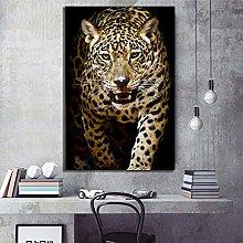 zqyjhkou Leopard poster wildlife/Print wild