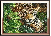 zqyjhkou Leopard print and plants/Print wild
