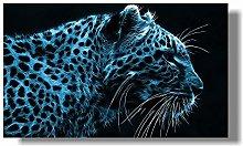 zqyjhkou Mysterious Snow Leopard/Print wild
