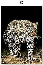 zqyjhkou Prairie Leopard/Print wild leopard poster