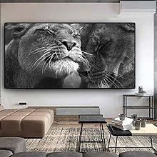zqyjhkou wild animals/Print wild leopard poster on