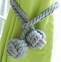 Zqyrlar - 1 Pair Hand Knitting Window Curtain
