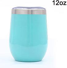 Zqyrlar - 12 OZ Stainless Steel Stemless Wine