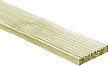 Zqyrlar - 12 pcs Decking Boards 150x14.5 cm Wood -