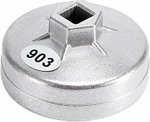 Zqyrlar - 1pcs Oil Filter Wrench, 74mm 14 Splines