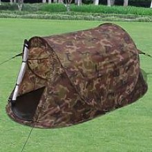 Zqyrlar - 2-person Pop-up Tent Camouflage - Silver