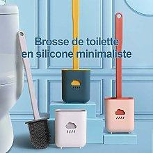Zqyrlar - 2pcs Toilet Brush, Antibacterial