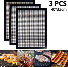 Zqyrlar - 3pcs BBQ Grill Mat for Grilling &