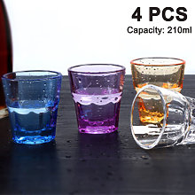 Zqyrlar - 4 pieces of water glass 210ml