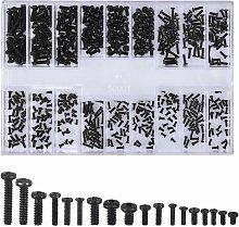 Zqyrlar - 500 Pieces Screw Kit, Countersunk Head