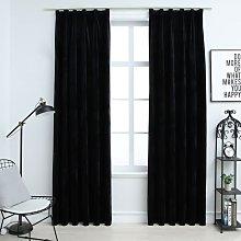 Zqyrlar - Blackout Curtains 2 pcs with Hooks