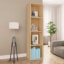 Zqyrlar - Book Cabinet/TV Cabinet Sonoma Oak