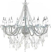 Zqyrlar - Chandelier with 1600 Crystals - White