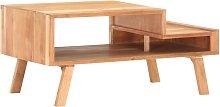 Zqyrlar - Coffee Table 100x50x45 cm Solid Acacia