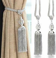 Zqyrlar - Curtain tiebacks with crystal beads,