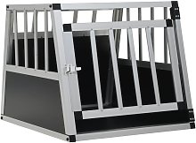 Zqyrlar - Dog Cage with Single Door 54x69x50 cm -