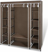 Zqyrlar - Fabric Wardrobe with Compartments and