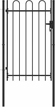 Zqyrlar - Fence Gate Single Door with Arched Top