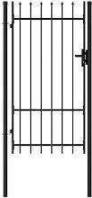 Zqyrlar - Fence Gate Single Door with Spike Top