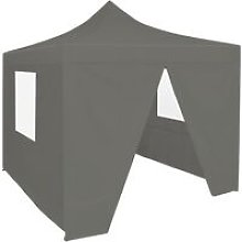 Zqyrlar - Foldable Party Tent Pop-Up with 4
