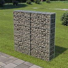 Zqyrlar - Gabion Wall with Covers Galvanised Steel