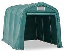 Zqyrlar - Garage Tent PVC 2.4x3.6 m Green - Green