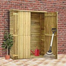 Zqyrlar - Garden Tool Shed 123x50x171 cm