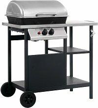 Zqyrlar - Gas BBQ Grill with 3-layer Side Table