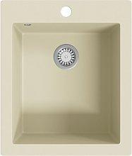 Zqyrlar - Granite Kitchen Sink Single Basin Beige