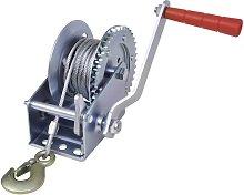 Zqyrlar - Hand Winch 544 kg - Silver