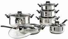 Zqyrlar - HI 12 Piece Cookware Set Stainless Steel