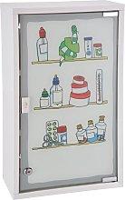 Zqyrlar - HI Medicine Cabinet 30x15x50 cm