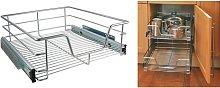 Zqyrlar - HI Telescopic Drawer Basket 50 cm -